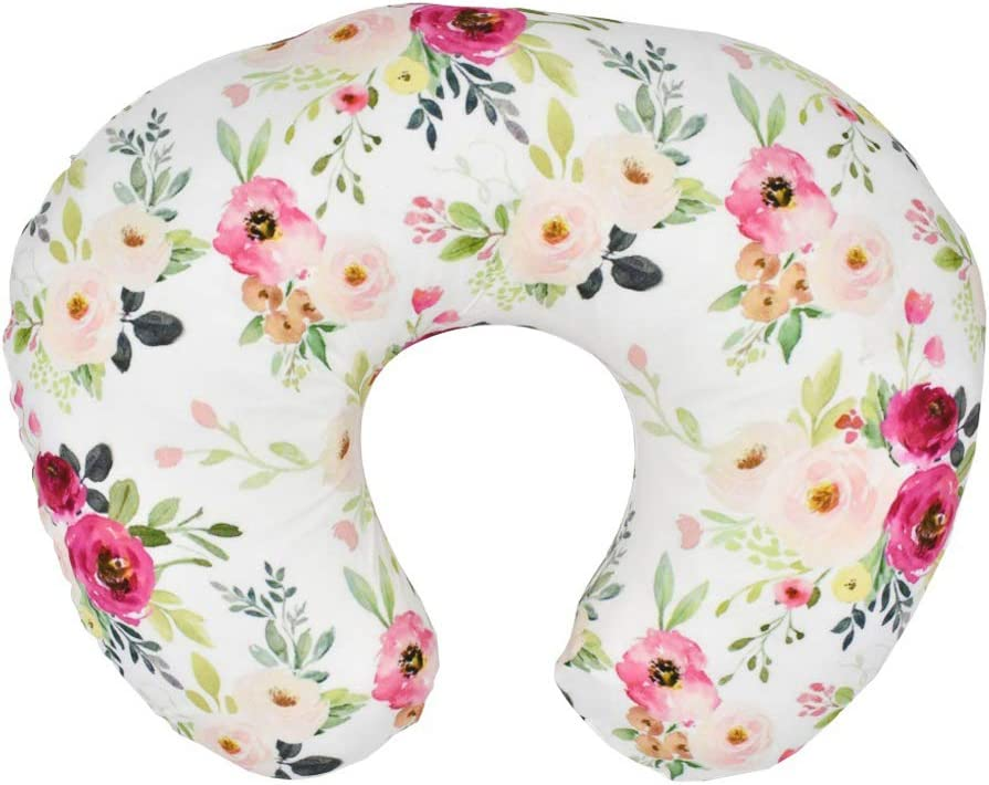 Jesse Home Decorative Cover Feeding Pillow Nursing Maternity Breasteeding Nursing Pillow Cover Cushion Case for Sofa or Bed