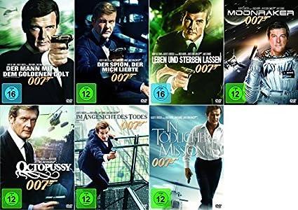 James Bond 007 Roger Moore Komplette Edition 7 Dvd Collection