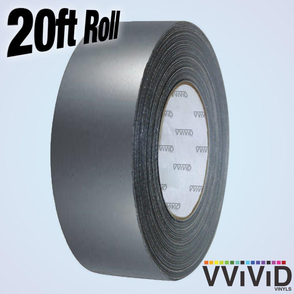 VViViD Gloss Vinyl Detailing Wrap Tape 2 x 20ft DIY Roll Gloss Red
