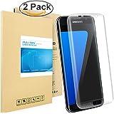 Galaxy S7 Edge Pellicola Protettiva, PULESEN® [2-PACK] Samsung Galaxy S7 Edge protezione S7 Edge Pellicola, 99,9% Proteggi Schermo HD chiaro 2.5D Pellicola Protettiva per Galaxy S7 Edge