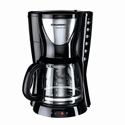 Grundig KM 5260 - Cafetera (Independiente, Negro, Acero inoxidable ...