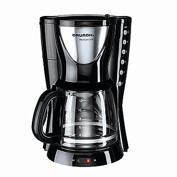Grundig KM 5260 - Cafetera (Independiente, Negro, Acero inoxidable, De café molido, 1,8L, Semi-automática, 950W): Amazon.es: Hogar