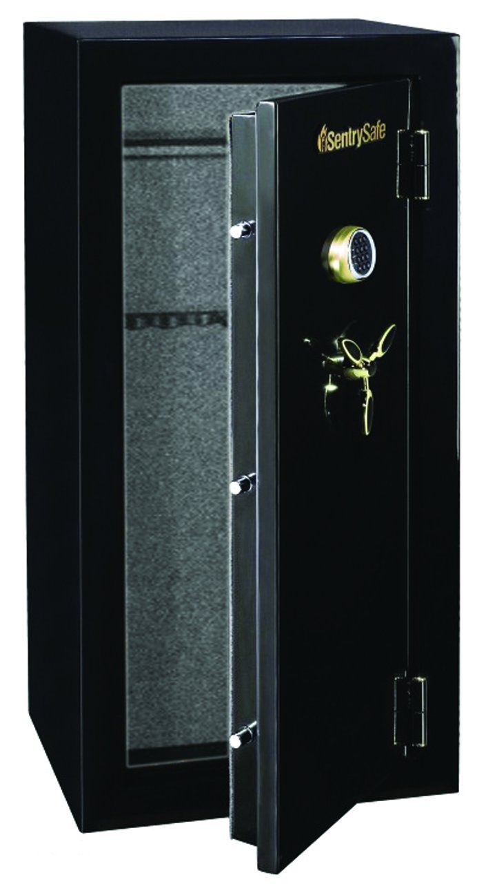 Amazon.com: SentrySafe GM2459E Electronic Lock Fire Safe, 24-Gun ...