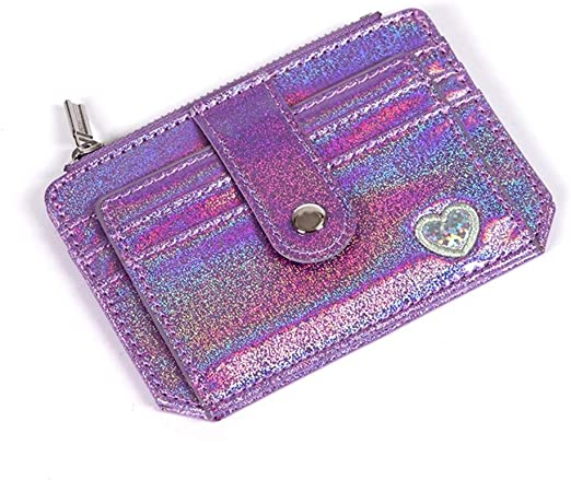 New Womens Classic Plain Patent Long Wallet Purse Faux Leather Coin Card Holder