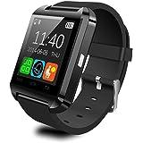 Bluetooth Smart Watch Uhr für Android iOS Smartphones, Vada-Tec U8 Smartwatch Intelligente Armbanduhr mit Schrittzähler/Remote Fotografie/Stoppuhr, Smart Gesundheit Armbanduhr iPhone Samsung Huawei