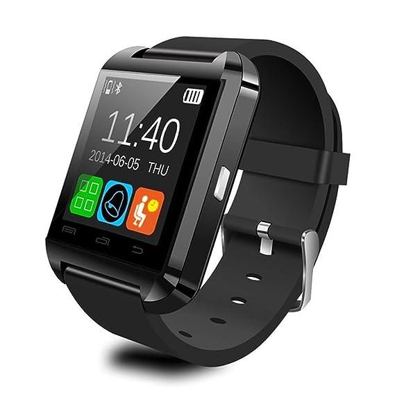 Reloj inteligente U8 de Vada-Tec, con Bluetooth, para Android e IOS,