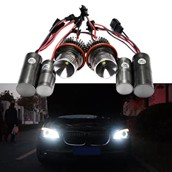 NEWSUN 10 W CREE LED Angel Eye marcador para faros de BMW E39, Kit de