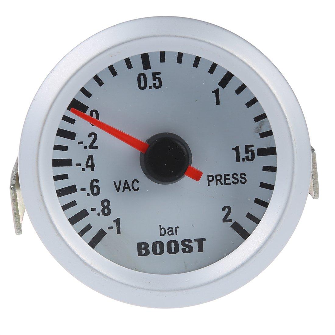1~2BAR Digitale Blu LED per Auto RETYLY Manometro Pressione Turbo//manometro Turbo//Boost Gauge//Vacuum Boost Gauge 2 52mm