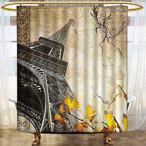 water repellent fabric shower curtain