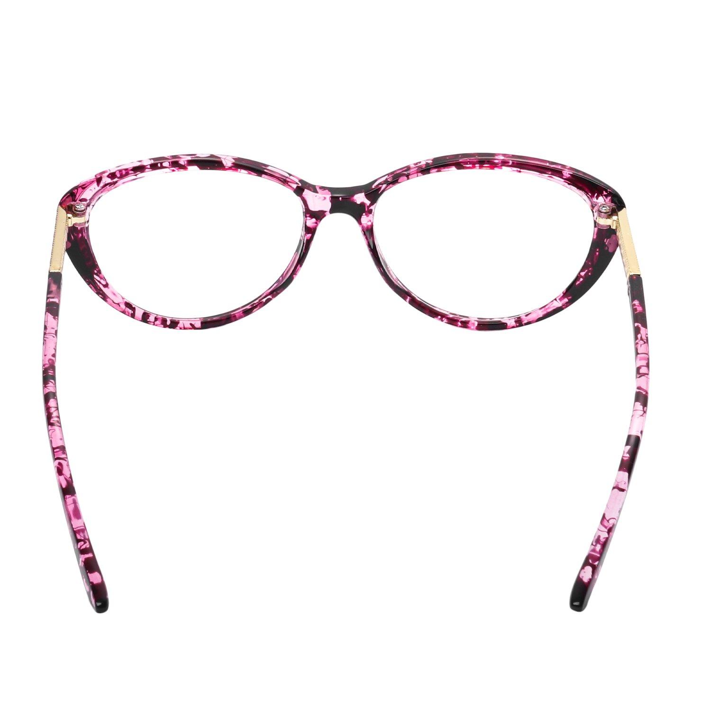 forepin reg  Lunettes de Vue Vintage pour Femme et Homme Verre Transparent  Cadre Frame Lentille Claire ... 5bd9c8a1618