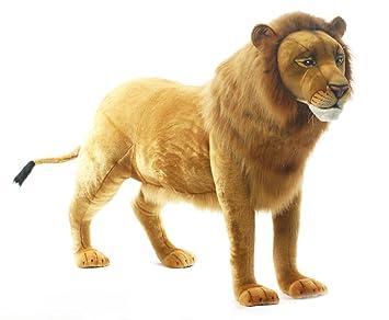 Hansa peluche león 4 con trabillas 178 CML *