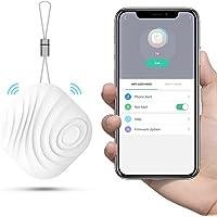 Key localizzatore anti lost Tracker mini Nuss 3 Key finder/telefono / cercatore di portafogli, chiave del cercatore di navigazione Bluetooth (Bianca 1)
