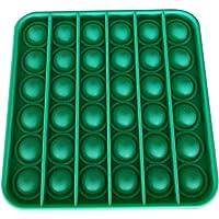 Arateck Children Adult Stress Relief Toy Push Pop Pop Bubble Sensory Fidget Toy Stress Relief Special Needs Silent…