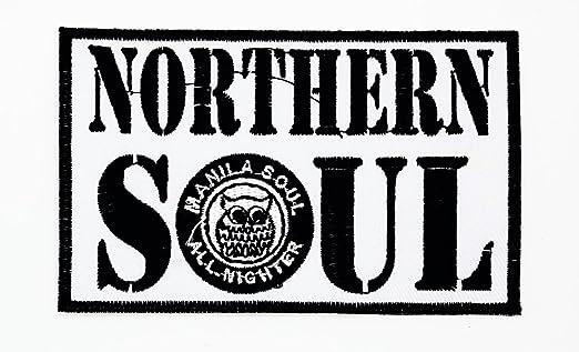 MNC parche blanco del norte Soul música banda Heavy Metal Punk ...