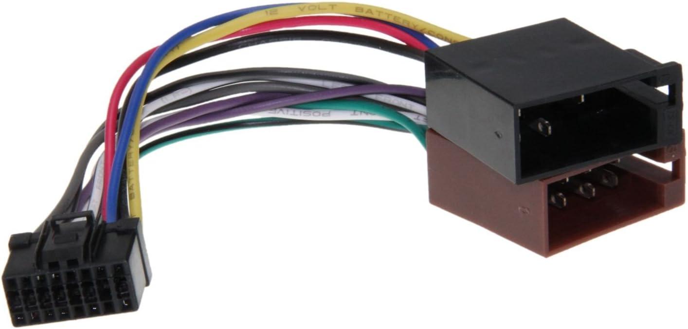 Clatronic Autoradio Radio Adapter Kabel Stecker Din Iso Elektronik
