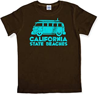 product image for Hank Player U.S.A. California State Beaches Kid's T-Shirt