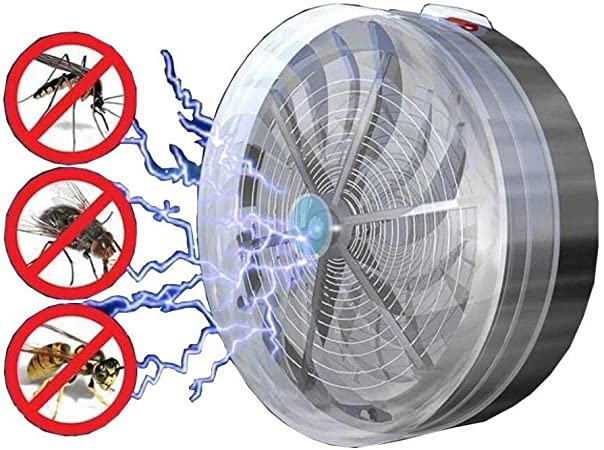 Electric LED Mosquito Fly Bug Insect Trap Zapper Killer Night Lamp Square Shape