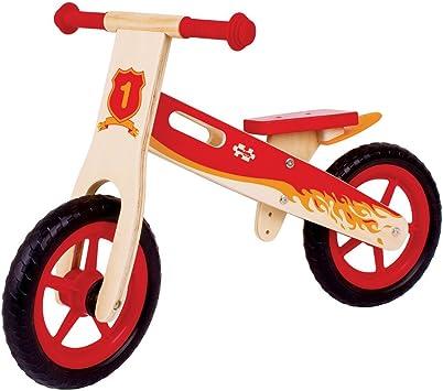 Bigjigs Juguetes Mi Primera Bicicleta de Equilibrio (Rojo): Amazon ...