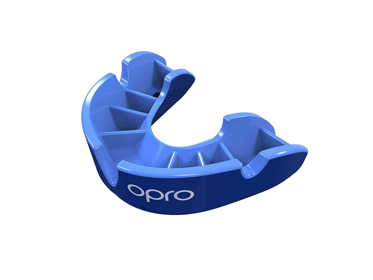 Opro Gen4 Silver Junior Mouthguard, Age up to 7 Years