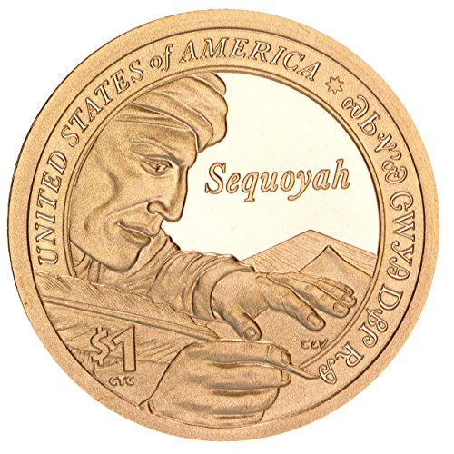 2017 S Sacagawea Native American Sequoyah Proof Dollar PF1