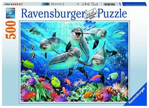 Ravensburger Dolphin - Ravensburger Dolphins Jigsaw Puzzle (500 Piece)