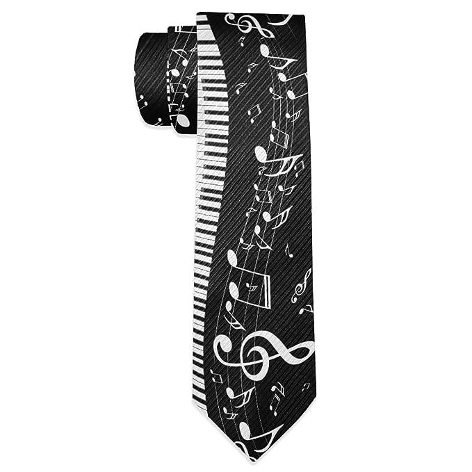 Wamika Violins Music Note - Corbata de seda para hombre, diseño de ...