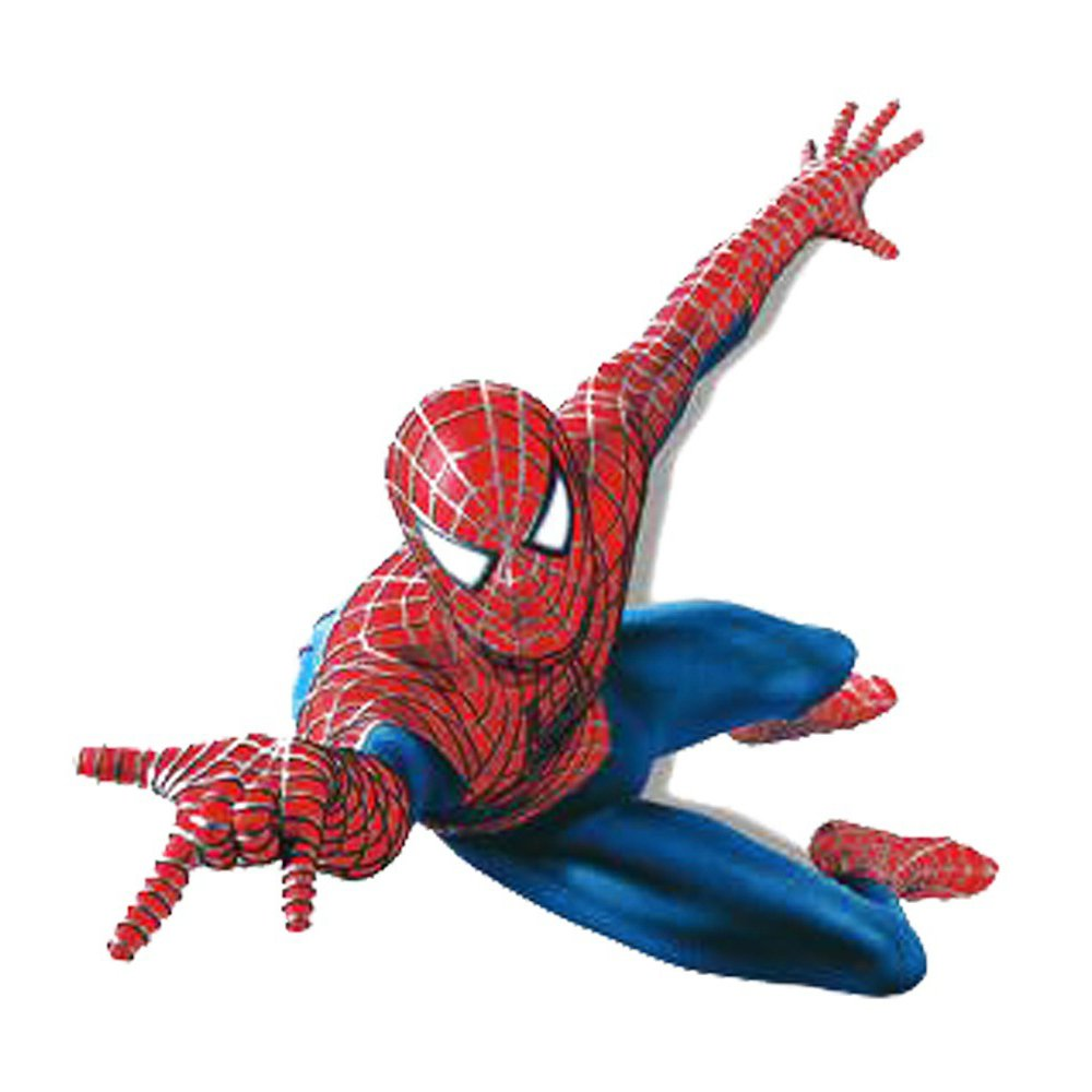 Winhappyhome Cartoon Spider-Man Bambini Adesivi Da Parete Camera Da Letto Soggiorno Sfondo Rimovibile Disegni Home Decor Murale