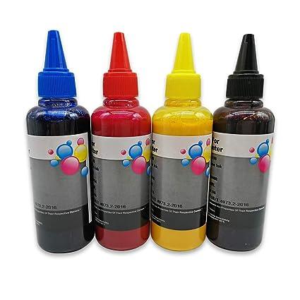 4 Botellas de tinta de pigmento compatible para Epson 29XL 27XL ...