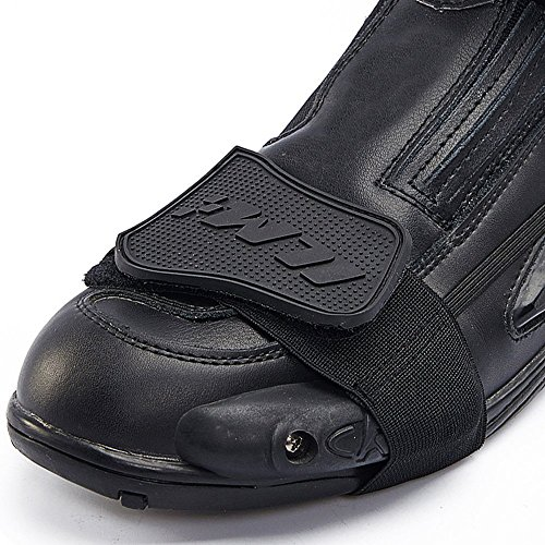 ILM Motorcycle Accessories Shifter Boots Shoe Protector Cover Gear 3 Colors (BLACK)