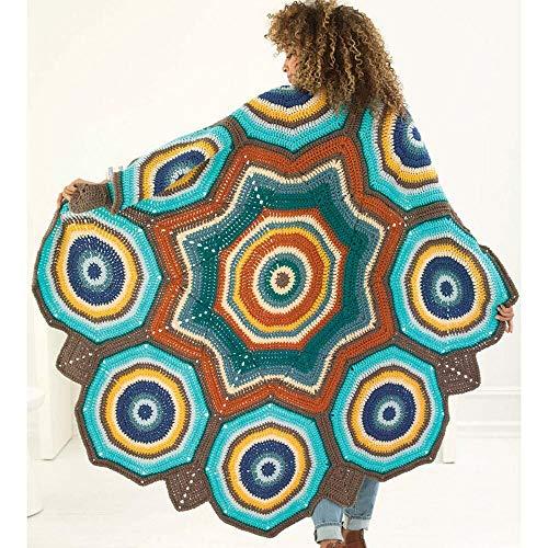Lion Brand Star Mandala Afghan Kit by Lion Brand (Image #1)