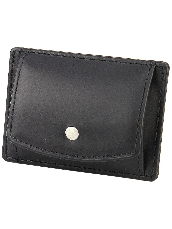 [エルゴポック] HERGOPOCH カードケース付き 小銭入れ 06W-CP ワキシングレザー 06 Series 06シリーズ B00DI2M5DW  ブラック