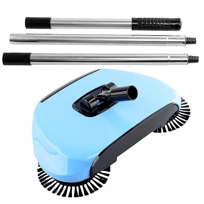 4 opinioni per iTECHOR Cleaner Macchina Hand push Scopa da Sweeper con Spazzola rotante per