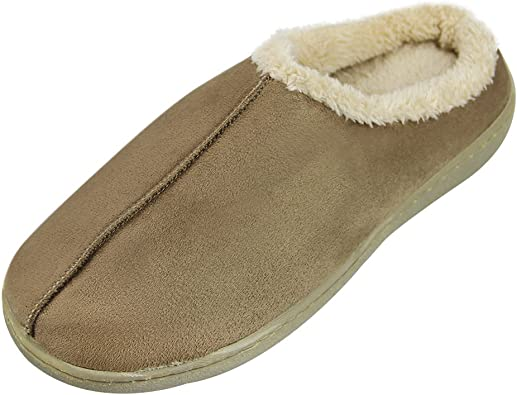ZYH Cotton slippers male slippers winter indoor slippers