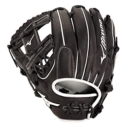 "9818c65d5aa0 Mizuno GPSF1175BK Pro Select Fastpitch Softball Gloves, 11.75"", Left  Hand Throw"