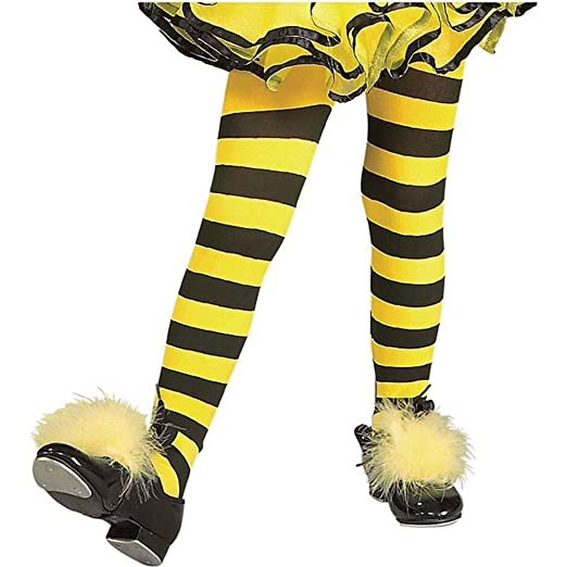 1f65a06b0f38a Amazon.com: Bumble Bee Tights Toddler Costume Accessory - Toddler: Clothing