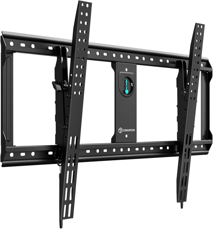 ONKRON Soporte Pared Inclinable Televisores 65 a 90 Pulgadas ...
