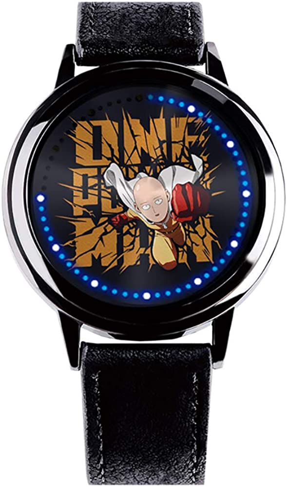Wildforlife Anime One Punch Man Saitama Collector's Edition Touch LED Watch