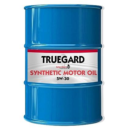 Amazon com: TRUEGARD 5W-30 Synthetic Motor Oil - 55 Gallon