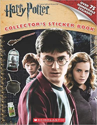 Harry Potter and the Deathly Hallows Part I: Sticker Book (Harry Potter Movie Tie-In) by Scholastic (2010-10-01)