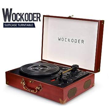 Amazon.com: Tocadiscos reproductor de Record de vinilo ...