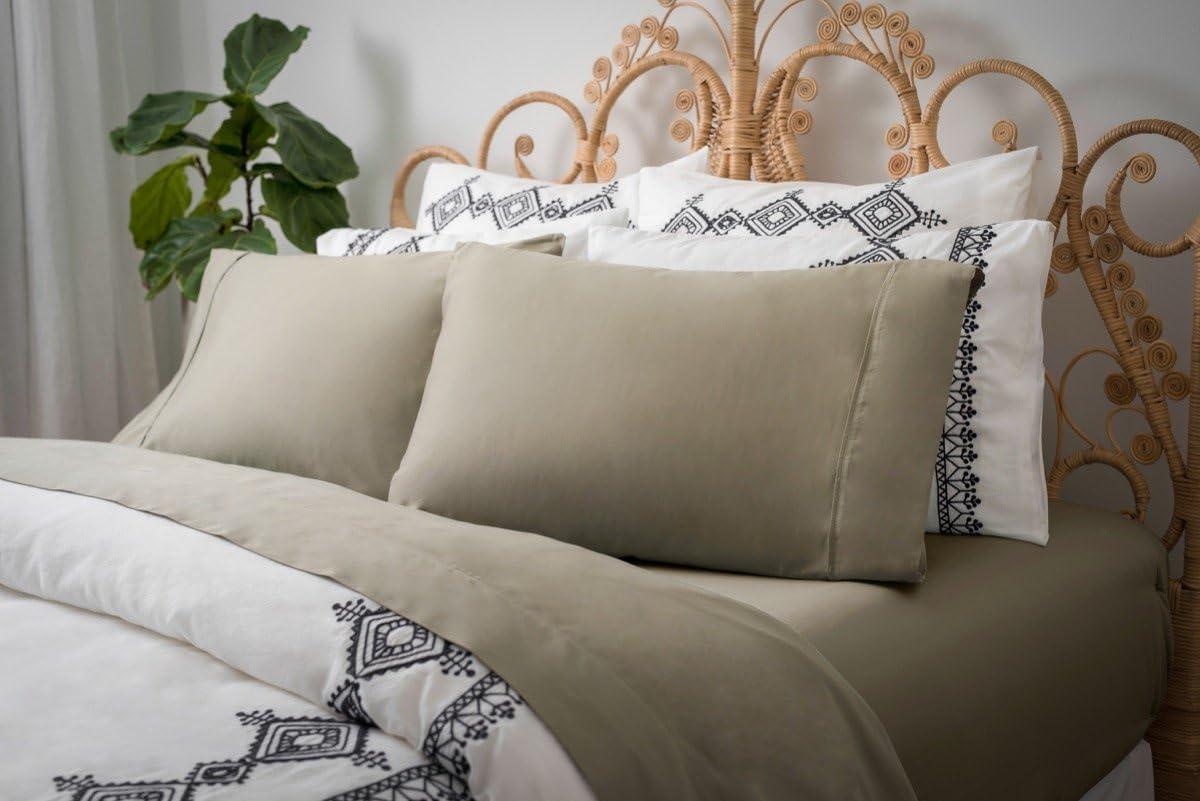 Magnolia Organics Dream Collection Pillowcase Pair - King, Laurel Oak