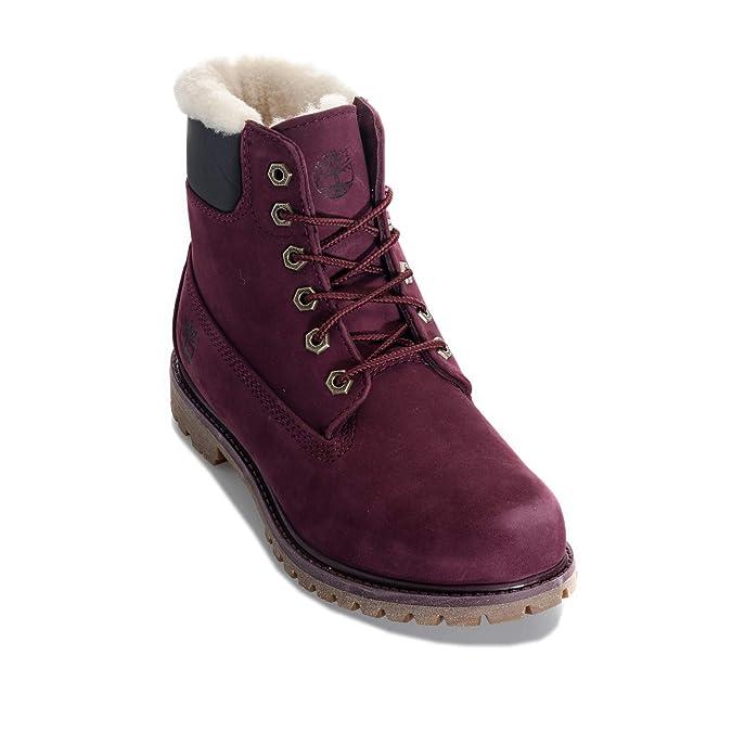 Timberland Damen Boots 6 inch Premium Violett, Violett - violett - Größe   41 EU  Amazon.de  Schuhe   Handtaschen 84c0db408d