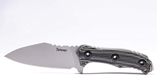 Pachmayr Dominator Fixed Blade Knife Grey Black