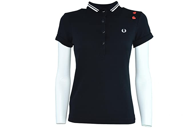 Polo Fred Perry Amy Winehouse SG8620 102 SG8620: Amazon.es ...
