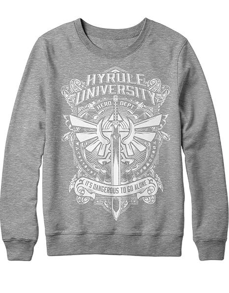 Z100019 Sweatshirt Zelda Hyrule University Hero DEPT
