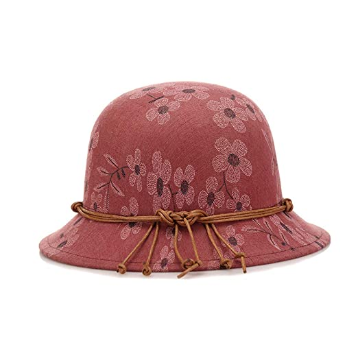 3bd29fd6f4f Image Unavailable. Image not available for. Color  ChenXi Store Fashion  Hats Ladies Hats caps Round face Winter ...