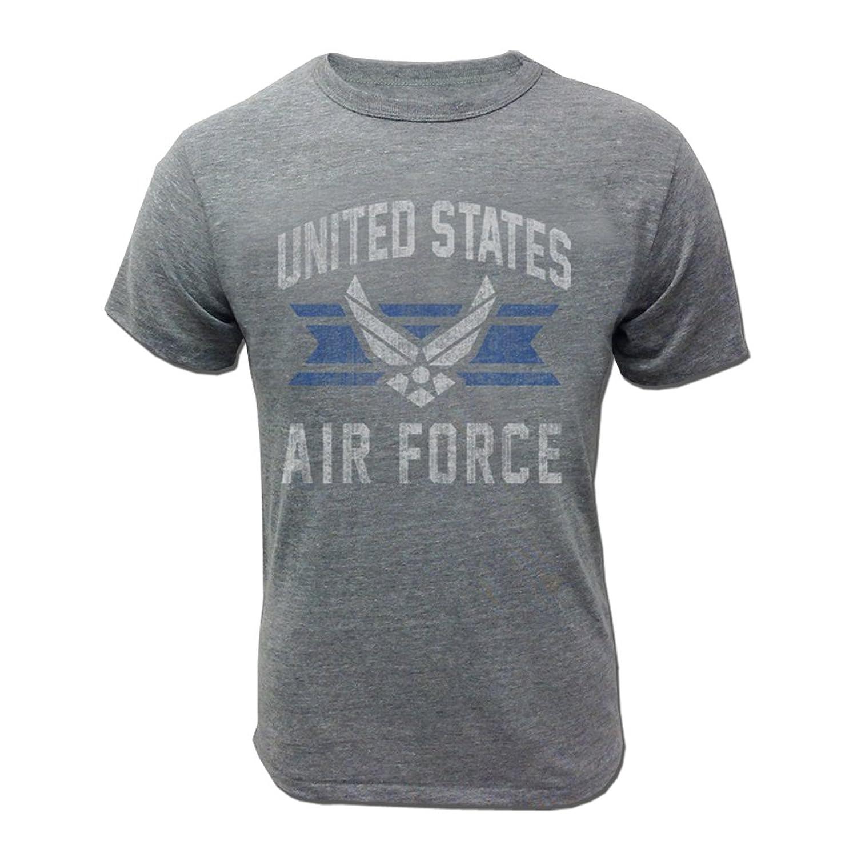 amazon com armed forces gear men s air force vintage basic t shirt