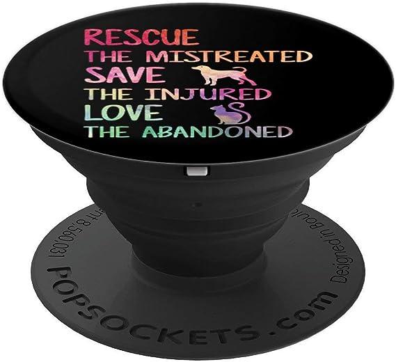 Amazon.com: RESCUE SAVE LOVE Animal Shelter Volunteer Mobile ...