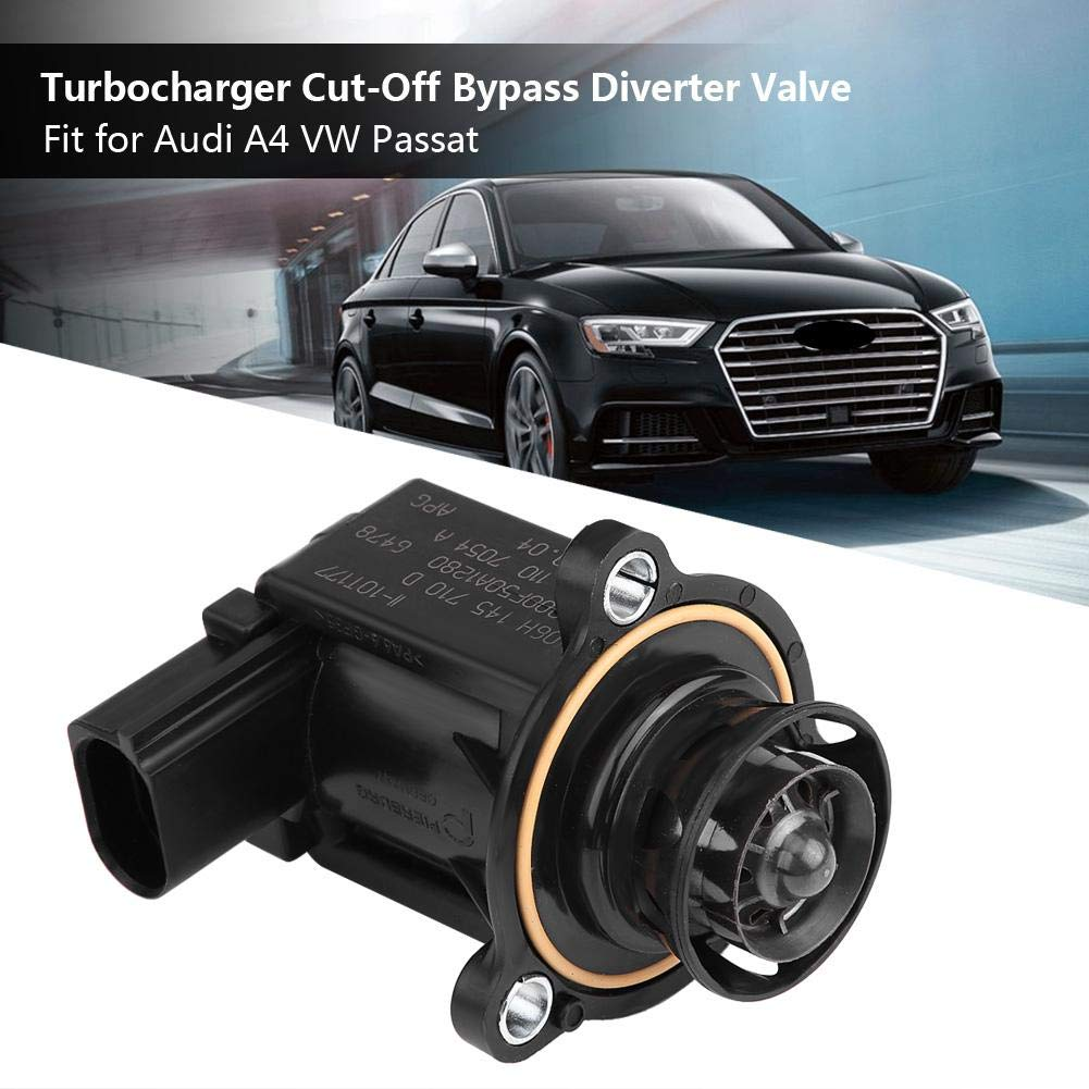 Válvula de desvío de derivación de corte del turbo turbo para 06H145710D: Amazon.es: Coche y moto