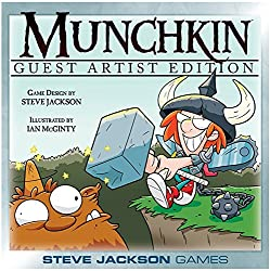 Mcginty Munchkin Guest Artist Edition Card Game